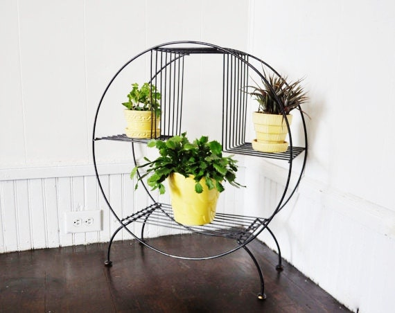 Mid-Century Plant Stand.