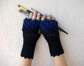 Fingerless gloves Handmade Wool gloves Arm warmers  Knit fingerless gloves  Texting gloves Womens fingerless Winter gloves hand knit mittens