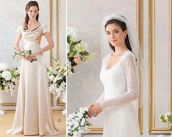 Kate Middleton Wedding Dress Pattern Simplicity By StitchySpot