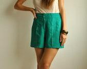 Vintage Green Shorts - MadLeeVintage