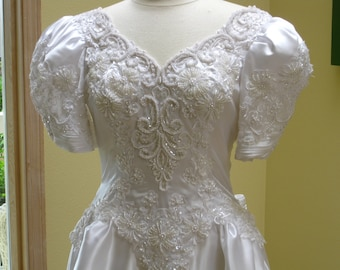 ginza collection- wedding dress, white wedding gown. L
