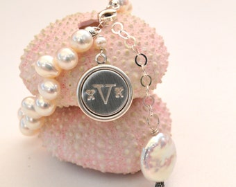 Keepsake Personalized Charm Bracelet, Mothers Day Ideas/Keepsake Jewelry for Moms
