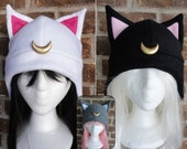 Luna, Artimus, Diana, Luna P - Sailor Moon Hat - Adult, Teen, Kid - Halloween Costume; nerdy, geekery gift!