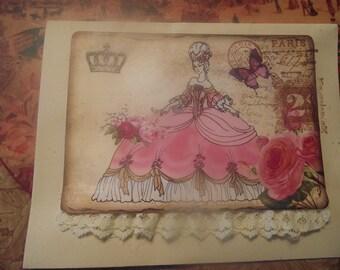 Envelope Marie Antoinette