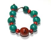 Bombona Seeds Bracelet/ Boho/ Boho Chic/ Bohemian/ Eco Friendly Jewelry