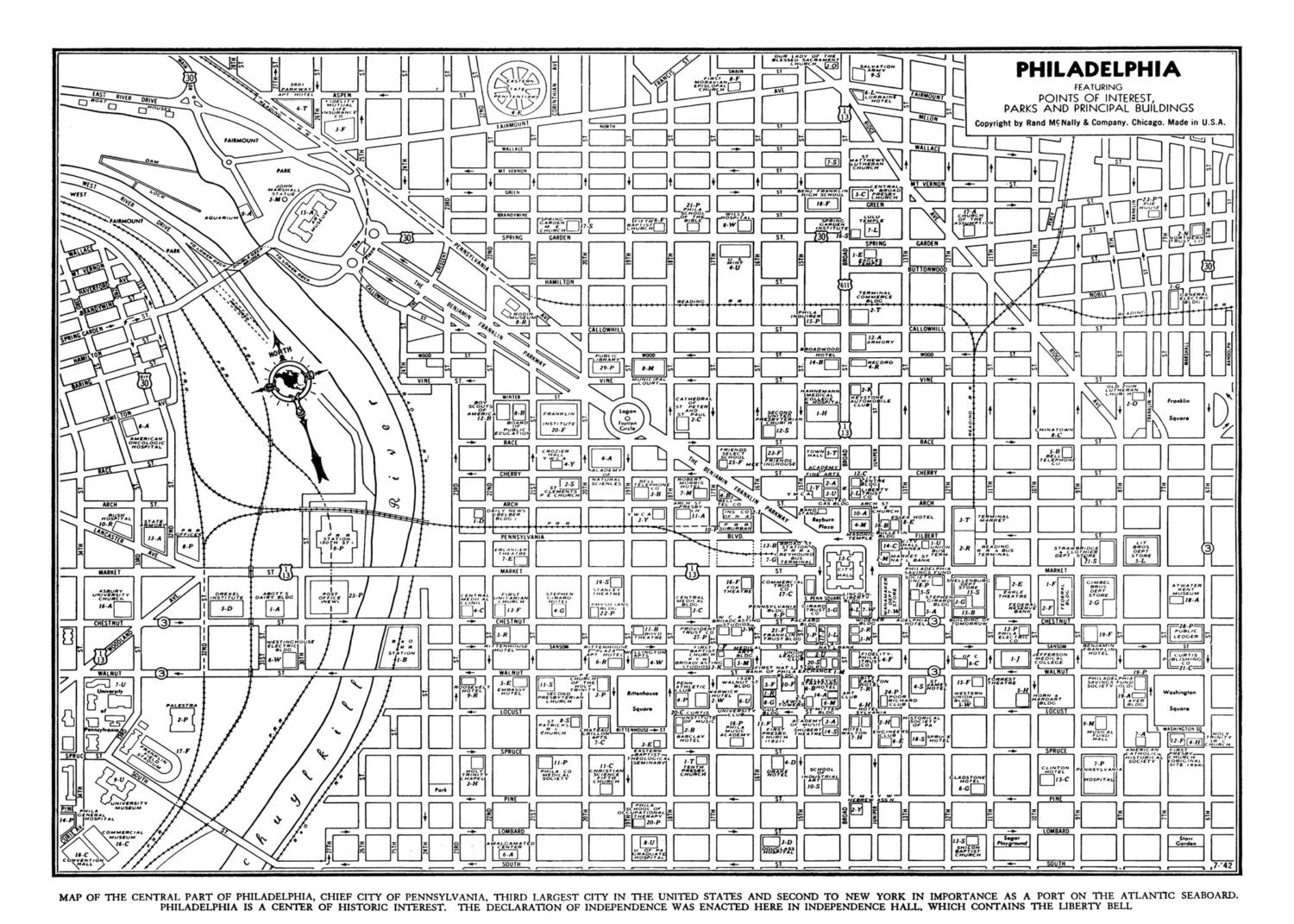 This is a photo of Ridiculous Printable Map of Philadelphia
