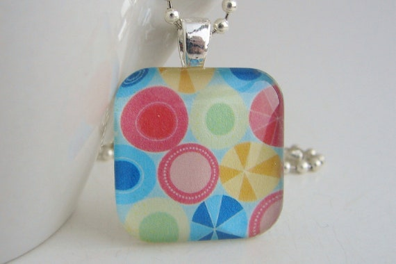 Candy Pendant with Free Necklace