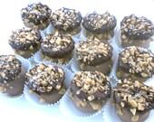 "Gluten Free ""Chocolate Toffee Crunch"" cake ball truffles (1 dozen)"