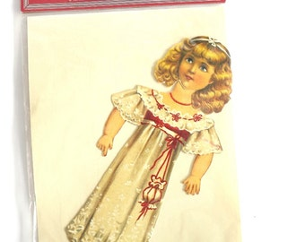 Vintage Victorian Paper Doll Set, Raphael Tuck, 1894 Copy, Girl's Toy, Original Package, Collectible Toy, Vintage Victorian Decor,