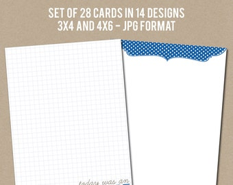 Printable Journaling Cards - Journal Builders