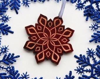 Celtic Ornament, Wood Celtic Ornament, Christmas Ornament, Scottish, Celtic Knotwork