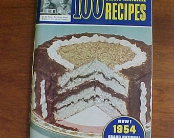 PILLSBURY BAKE-OFF 5th, 8th, and 9th 1954, 1957, 1958 COOKBOOKS LOT FREE USA SHIP