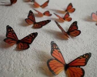 3D Wall Monarchs- set of 20