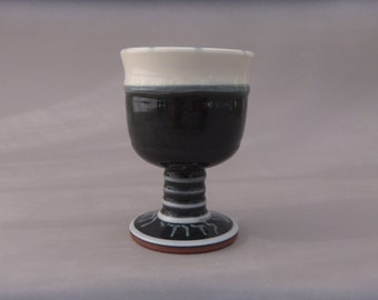 Jewish Wedding Kiddush Goblet - Pottery
