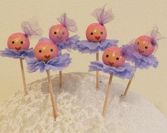 Pink Sugar Plum Christmas Fairies