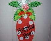 Carrot Door Hanger