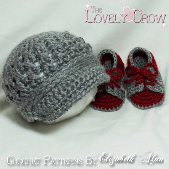 Crochet Patterns Baby Boy : Baby Boy Crochet Pattern Includes Little Sport by ...