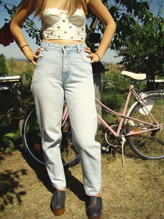 Vtg 80's High Waisted Jeans-Levis high waist silver label levis  Pants