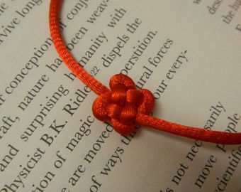 Clover Good Luck Knot Wish Bracelet - Good Luck, Hope, Healing  and Prosperity Today and Everyday