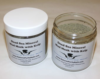 Dead Sea Mineral Mud Mask with Kelp