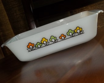 Vintage Anchor Hocking Loaf Pan / Casserole Dish By SimplyUpStanding