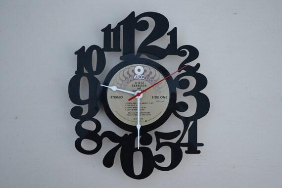 Vinyl Record Album Wall Clock (artist is Garrison and Van Dyke)