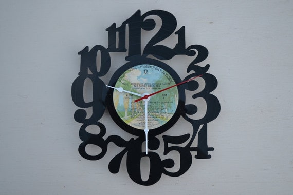 Vinyl Record Album Wall Clock (artist is The Doobie Brothers)