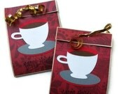Hot Chocolate Favors - Happy Holidays - Set of 8
