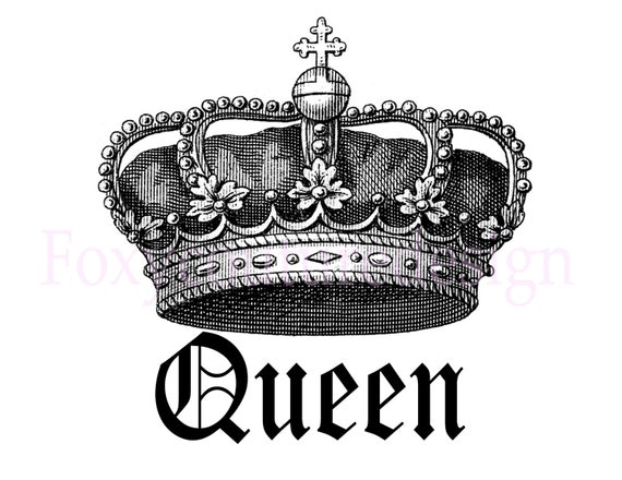 Queen Crown Painting Items similar t...
