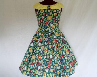 Sundae Custom Made Swing Dress