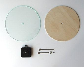 Objectify DIY Wall Clock Kit - Round