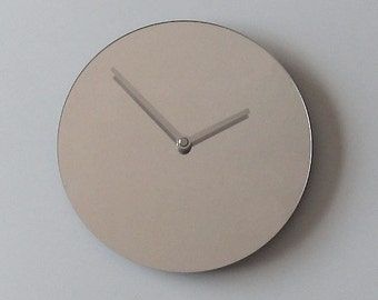 Objectify Mirror Wall Clock