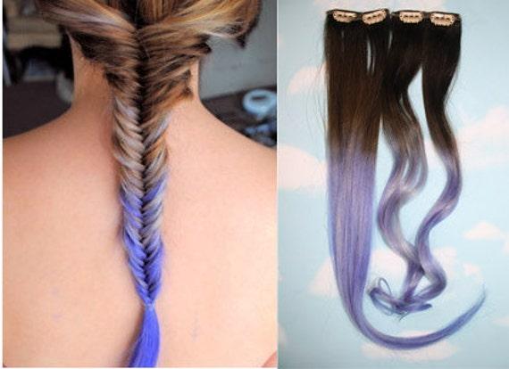 handmade ombre dip dyed hair extensions tye dye tips 20 22