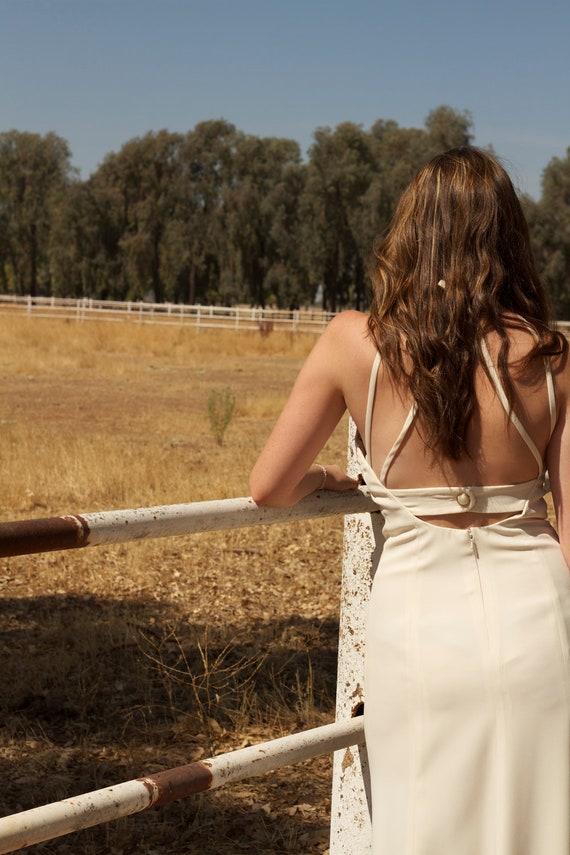 Vintage Wedding Gown - Anna