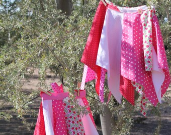 "Pixie Wrap Skirt ""Cherries"" (adult)"