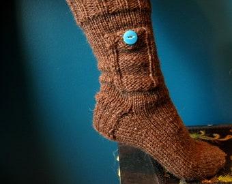 Knitting Pattern for Pocket Socks