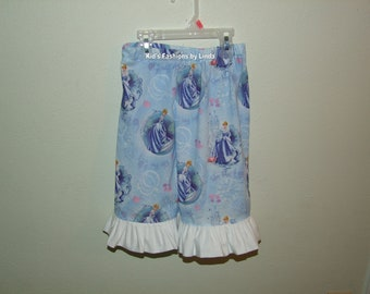 Ruffle Pants with Cinderella Fabric