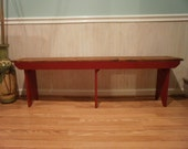 wooden bench 3' entryway/hallway/benches/bench/tv stand/coffee table