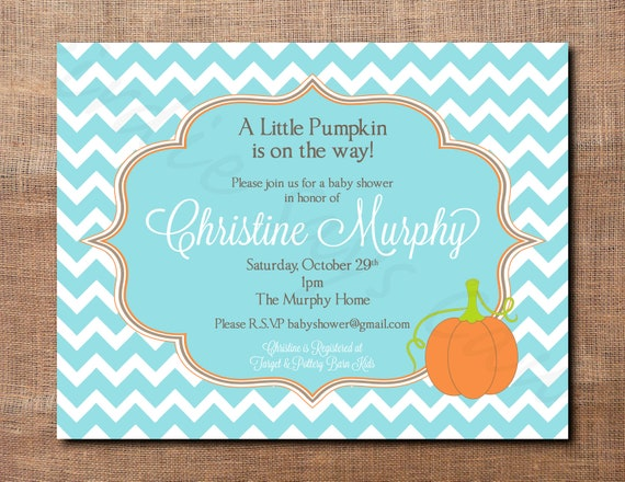 diy baby shower invitations fall themed  babycenter, Baby shower