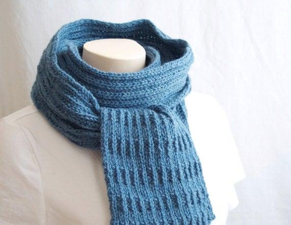 photo tricoter un foulard