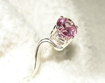 2.75ct -Pink Topaz Ring