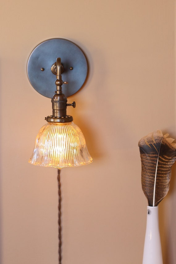 Wall Sconce Lighting Articulating Reading Light W Ruffled