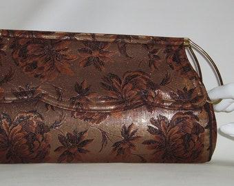 lennox bags vintage. lennox brocade evening bag with metal handle lennox bags vintage