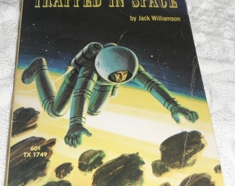 Trapped in Space by Jack Williamson Scholastic Book 1970