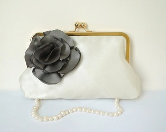 Bridesmaid Clutch Purse- All Colors Available