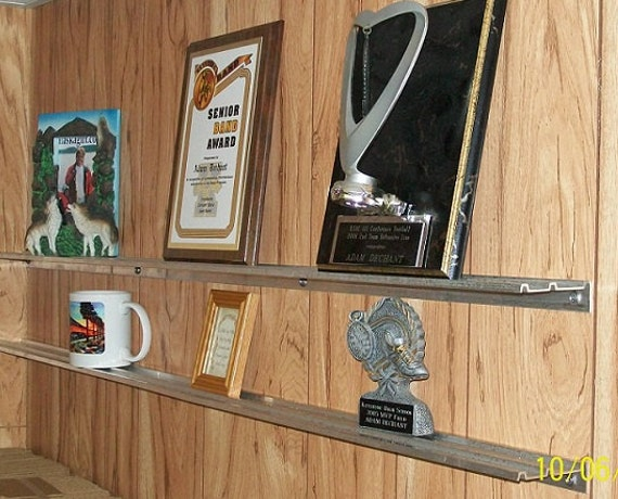 Display Shelves For Trophies Plaques Pictures Awards By