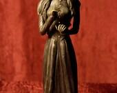 "RESERVED Bawon Samedi and Maman Brijit Vodou Lwa Commissioned 10"" Statue SET"