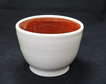 Medium pottery bowl, handmade ceramic