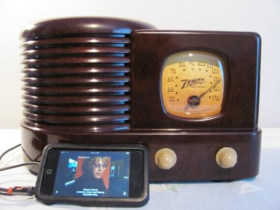 Zenith Radio iPod Ready Model 4K 130 Restored