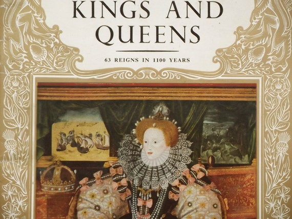 Kings and Queens little royal biography book